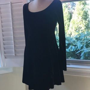 Betsey Johnson Vintage Crushed Velvet Dress